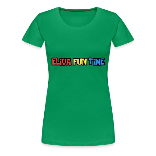 Eliya Fun Time Label - Women's Premium T-Shirt
