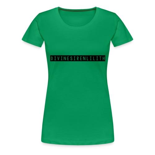 DivineSirenLilith - Women's Premium T-Shirt