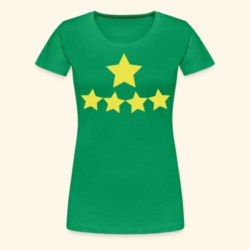 5 Stars - Women's Premium T-Shirt