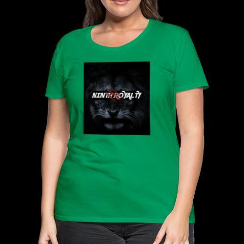 NINTH ROYALTY LION - Women's Premium T-Shirt