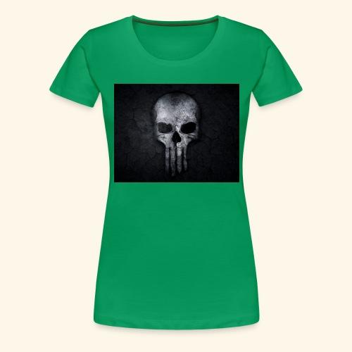 skull and crossbones 2077840 1920 - Women's Premium T-Shirt