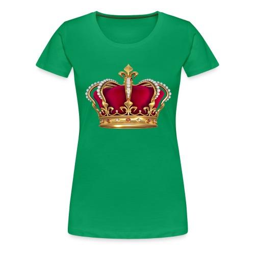 RED GOLD CROWN - Women's Premium T-Shirt
