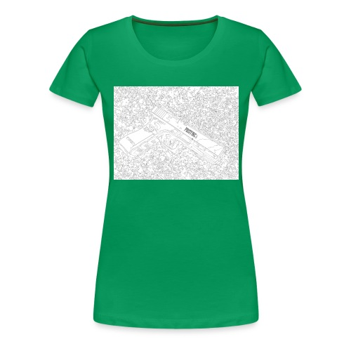 GunLines - Women's Premium T-Shirt