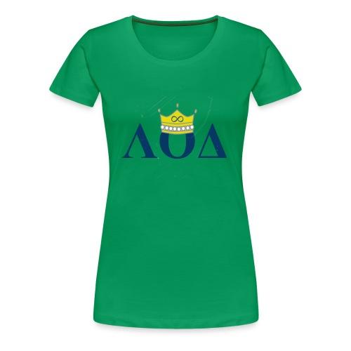 Crown Letters - Women's Premium T-Shirt