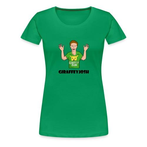GiraffeyJosh Big Logo - Women's Premium T-Shirt