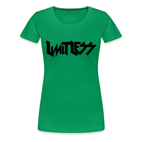 limitlesslogo tour inspired - Women's Premium T-Shirt
