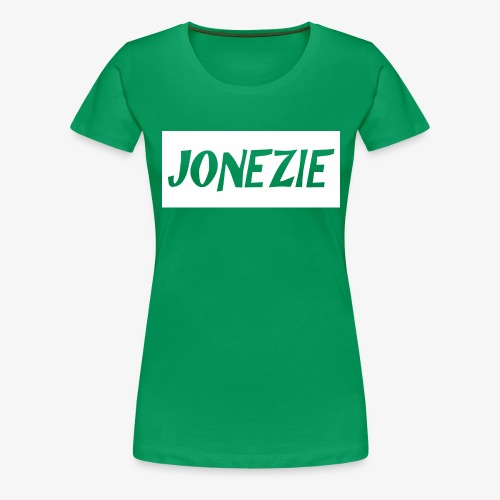 JONEZIE WHITE EDITION - Women's Premium T-Shirt