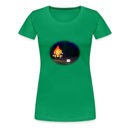 'Round the Campfire - Women's Premium T-Shirt