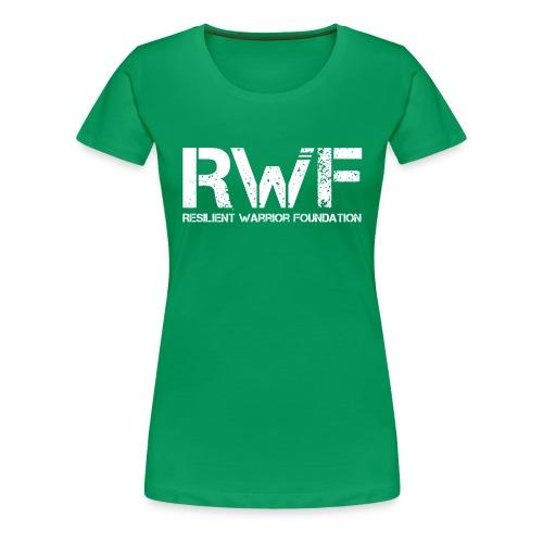 RWF White - Women's Premium T-Shirt
