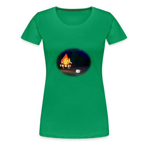 'Round the Campfire - Women's Premium T-Shirt