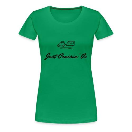 dark logo transparent 2x - Women's Premium T-Shirt