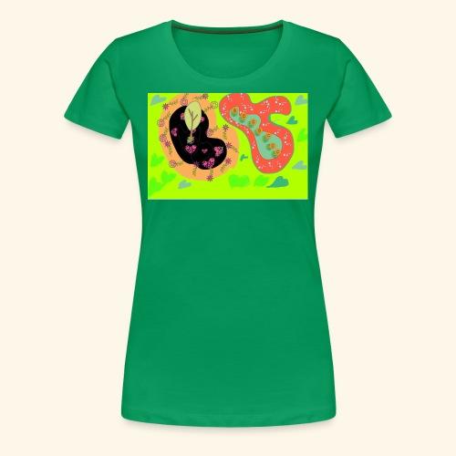 Floating gardens - Women's Premium T-Shirt