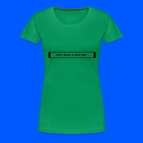 Nerf™ War design - Women's Premium T-Shirt