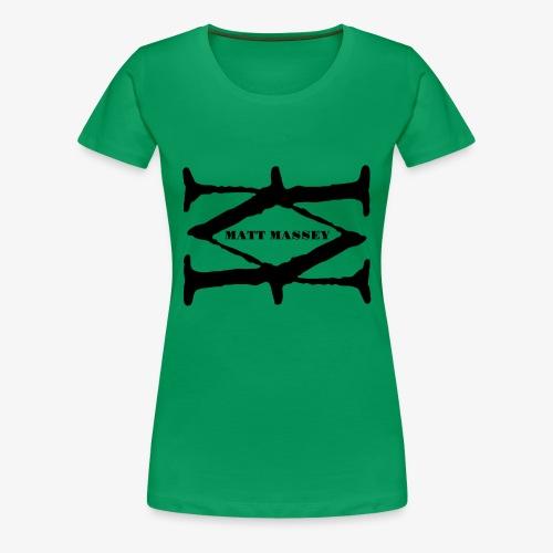 Matt Massey Logo Black - Women's Premium T-Shirt