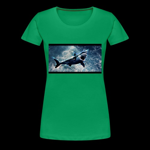 awesome sharks - Women's Premium T-Shirt