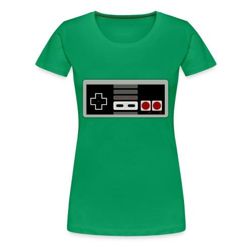 Retro Gaming Controller - Women's Premium T-Shirt