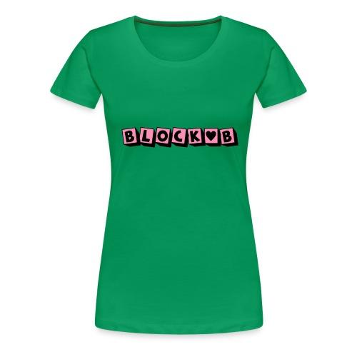 block b - Women's Premium T-Shirt