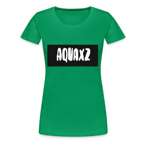 aquashirtlogo - Women's Premium T-Shirt