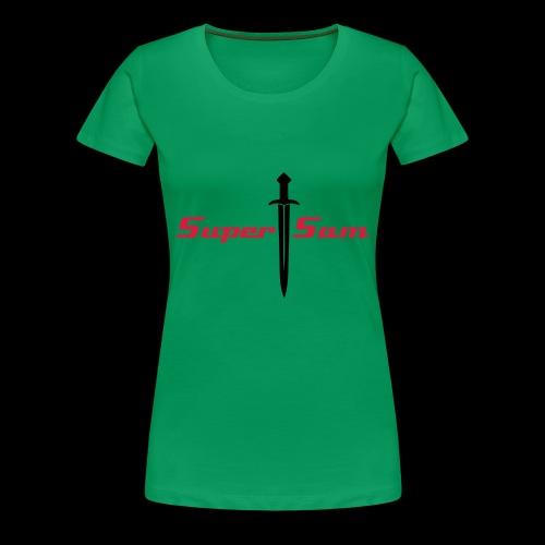 SuperSam R - Women's Premium T-Shirt