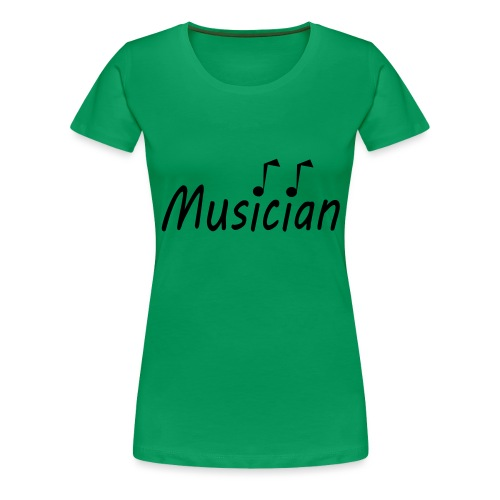 musician black - Women's Premium T-Shirt