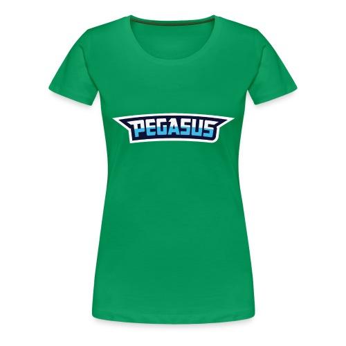 Mr Pegasus Text - Women's Premium T-Shirt