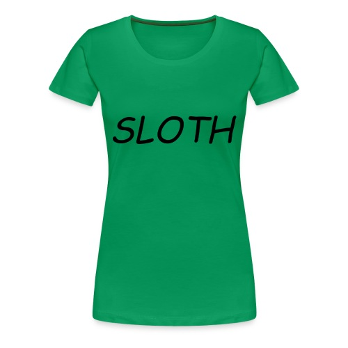 SLOTH XL - Women's Premium T-Shirt