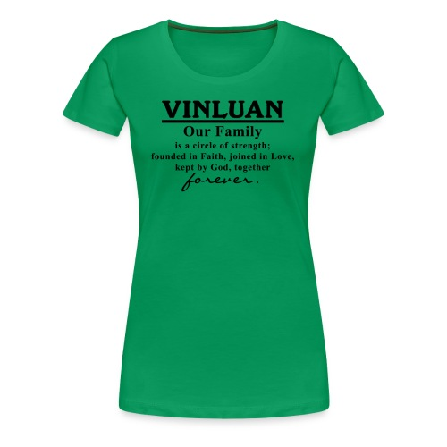 Vinluan Family 01 - Women's Premium T-Shirt