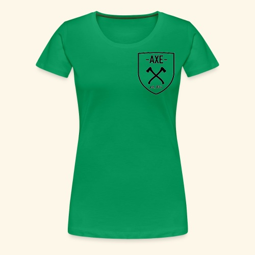 The AXE - Women's Premium T-Shirt