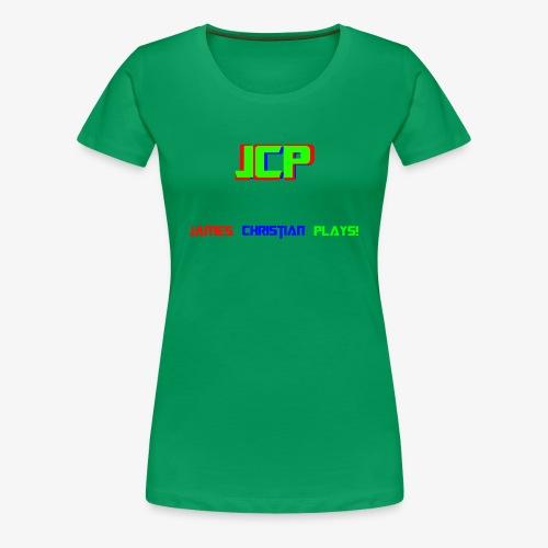 James Christian Plays! - Women's Premium T-Shirt