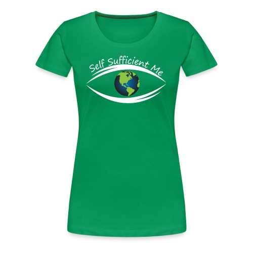 Self Sufficient Me Logo Large - Women's Premium T-Shirt