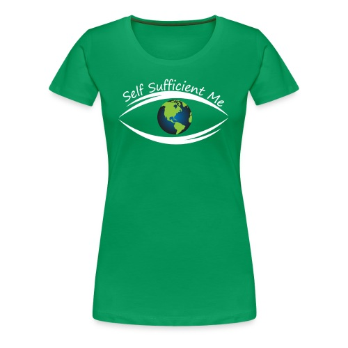 Self Sufficient Me Logo Large - Women's Premium T-Shirt