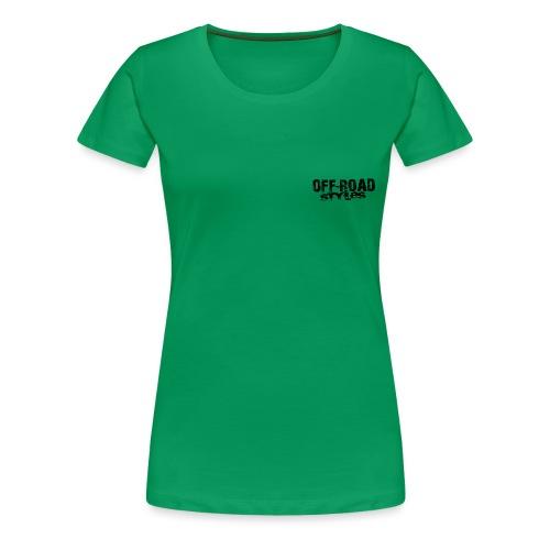 Monster Truck Grungy blk Women's T-Shirts - Women's Premium T-Shirt