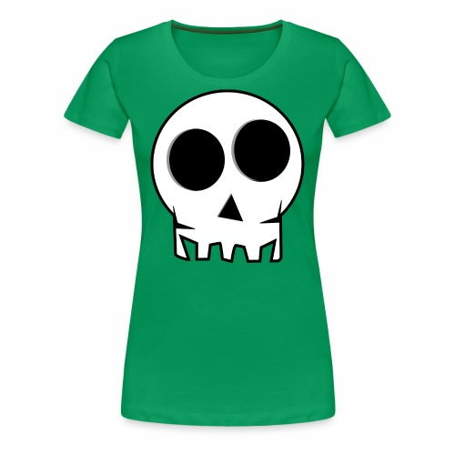 skull - Women's Premium T-Shirt