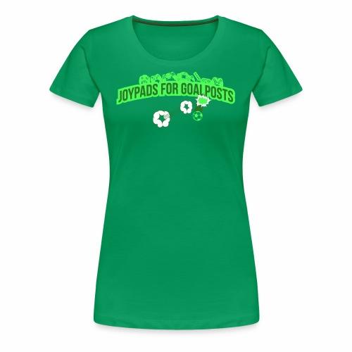 Joypads for Goalposts Classic Logo - Women's Premium T-Shirt