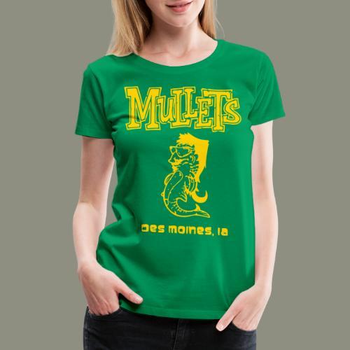 Mullets Color Series - Women's Premium T-Shirt