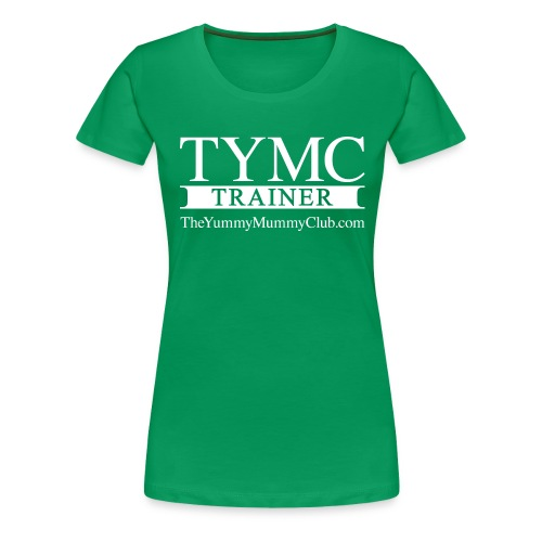 Trainer On pink - Women's Premium T-Shirt