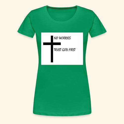 No Worries - Women's Premium T-Shirt
