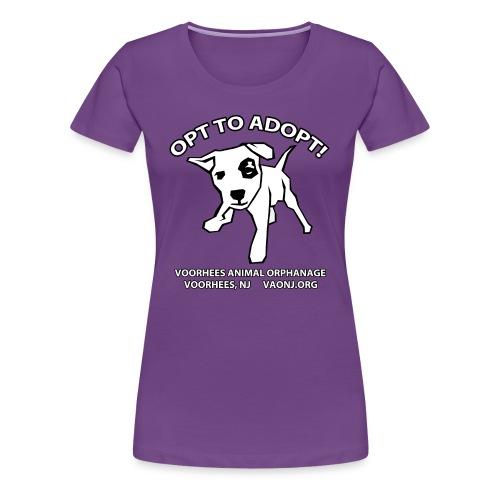 Opt to Adopt png - Women's Premium T-Shirt