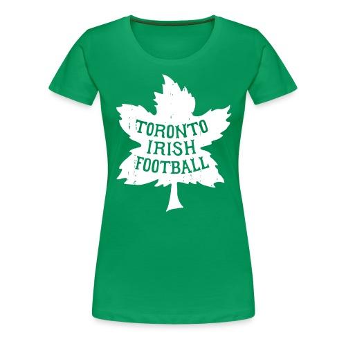 Toronto Irish Maple Leaf - Women's Premium T-Shirt