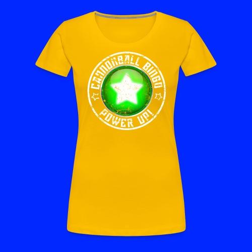 Vintage Power-Up Tee - Women's Premium T-Shirt