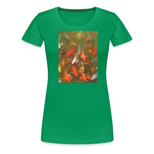 Koi Fish - Women's Premium T-Shirt