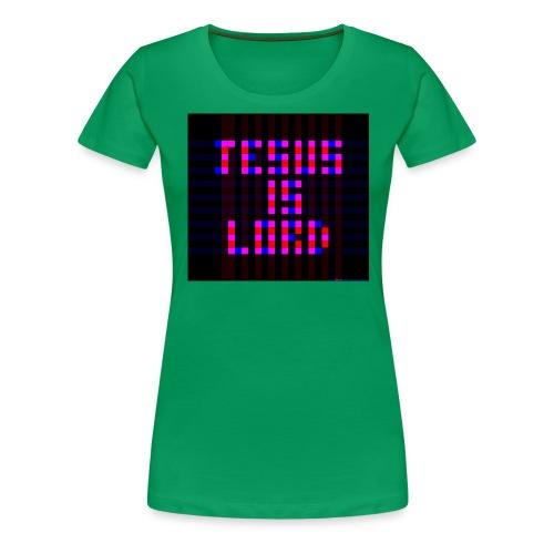 jesus squares tshirt - Women's Premium T-Shirt