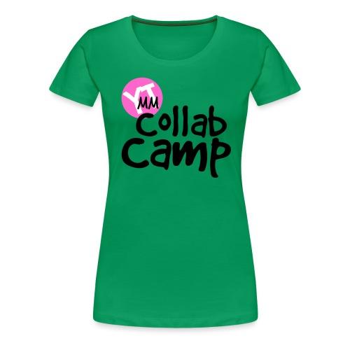 Collab Camp Shirt Design png - Women's Premium T-Shirt