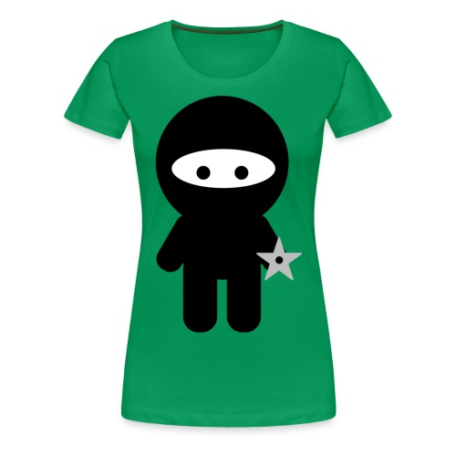 Ninja Boy - Kids Tee - Women's Premium T-Shirt