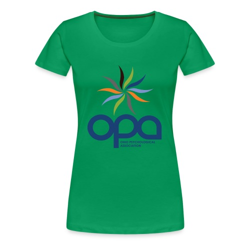 Short-sleeve t-shirt with full color OPA logo - Women's Premium T-Shirt