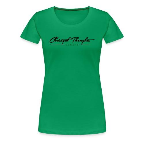 Christyal Thoughts C3N3T3 - Women's Premium T-Shirt