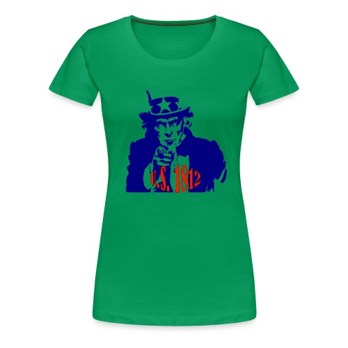 uncle-sam-1812 - Women's Premium T-Shirt