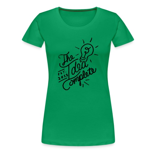 The Idea Complete Hand Drawn Tee - Women's Premium T-Shirt