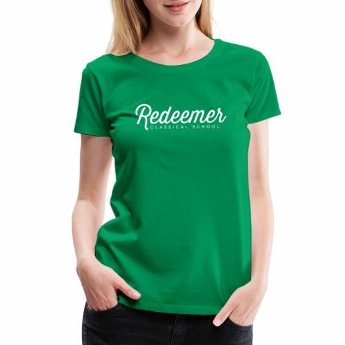Women's Redeemer Script - Women's Premium T-Shirt