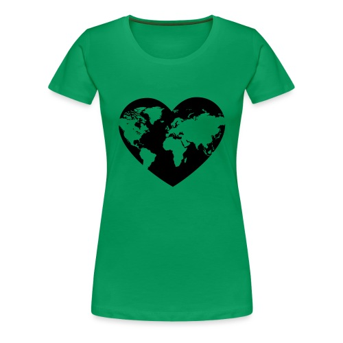 Earth Love - Women's Premium T-Shirt